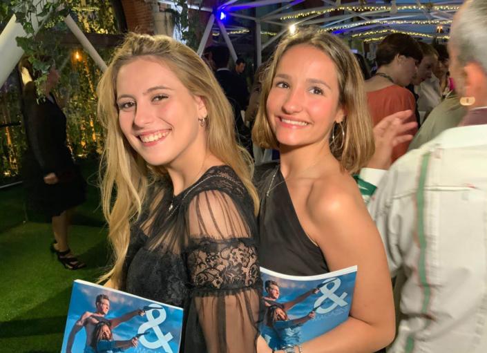 presentacion revista and magazine influencers, sociedad castellón, modelos