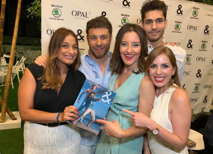 Begoña campos OPAL-presentacion revista and magazine influencers, eventos, modelos