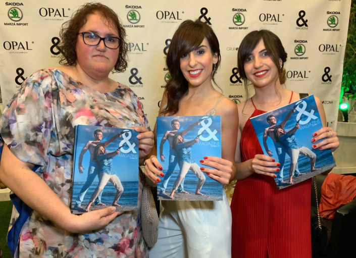 OPAL-presentacion revista and magazzine fiestas, eventos, modelos