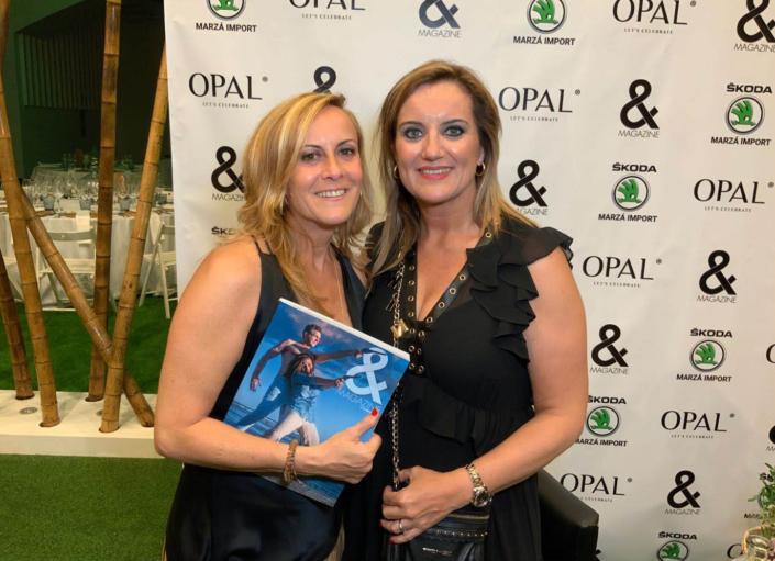 OPAL-presentacion revista and magazine fiestas, eventos, modelos