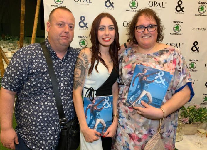 OPAL-and magazine fiestas, eventos, modelos