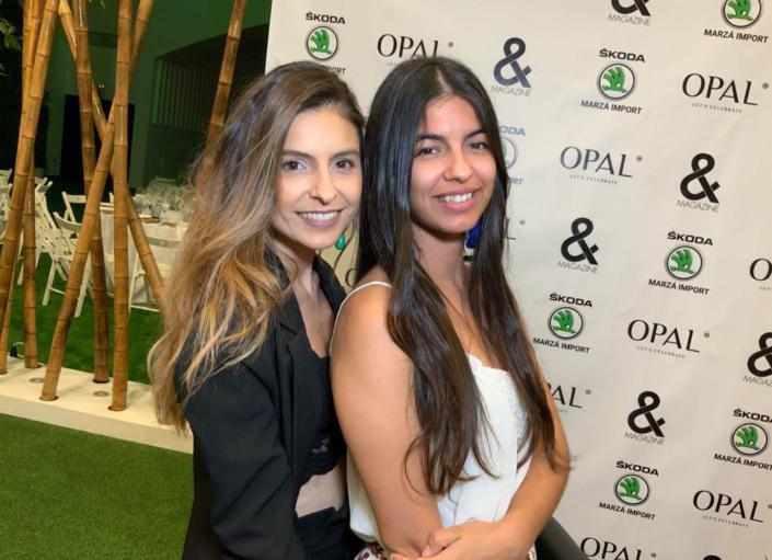 OPAL-BEGOÑA CAMPOS and magazine alta sociedad y eventos