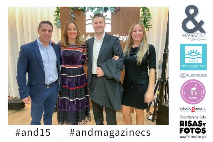 Begoña Campos And Magazine revista 15