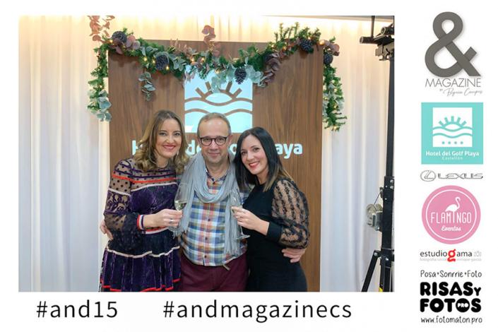 Begoña Campos And Magazine Castello nº15 presentación hotel golf playa